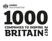 Top 1000 companies to inspire Britain 2017