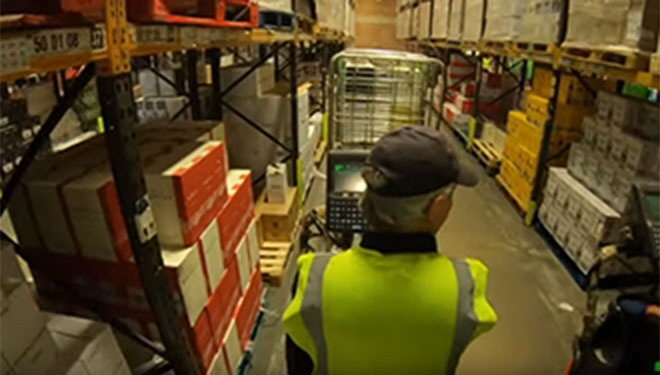 Brexit stockpiling: UK warehouses already 'full' - BBC Newsnight