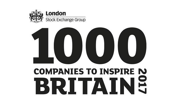 Mezzanine included in '1000 Companies to Inspire Britain' report
