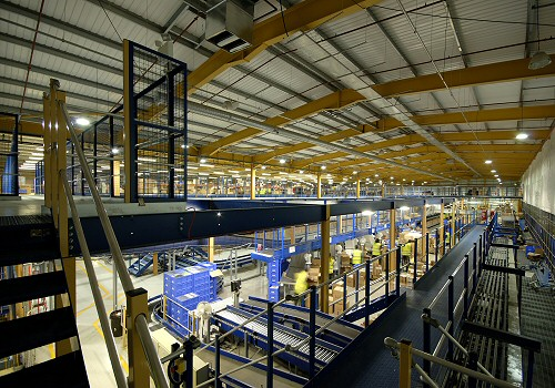 Mezzanines for distribution centers
