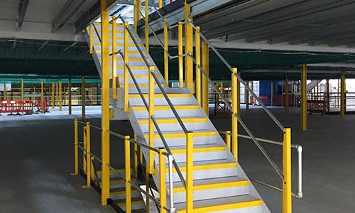 Utility Staircase Mezzanine Access