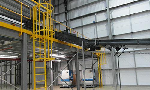 Mezzanine Access Escape Ladders or Cat Ladders