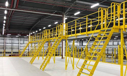 Mezzanine Access Companionway Ladder