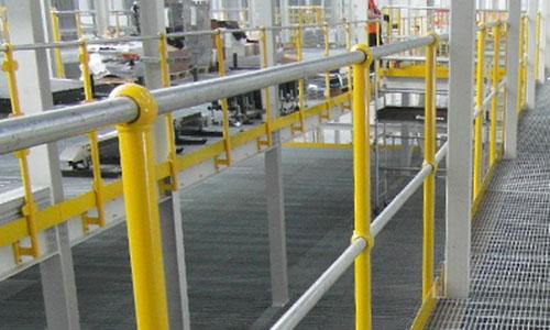 MiTek B34 Edge Protection Mezzanine Balustrade