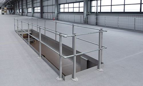 MiTek S32 Edge Protection Mezzanine Balustrade