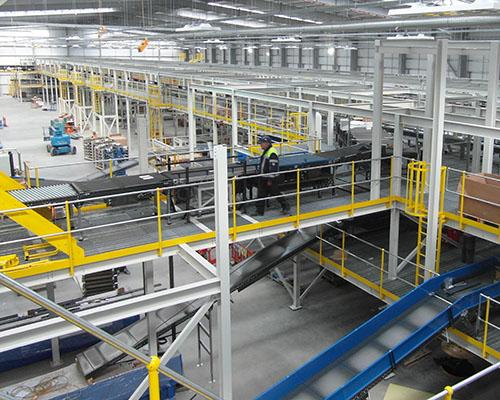 Mezzanine Applications Warehouse Industrial Storage Retail Office