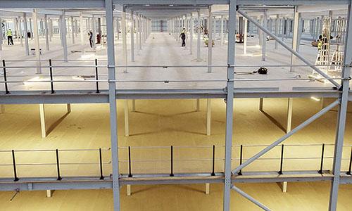 Mezzanine Floor Structure