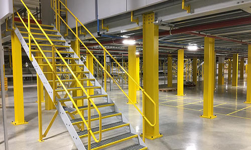 Mezzanine Staircases, Ladders & Step Overs
